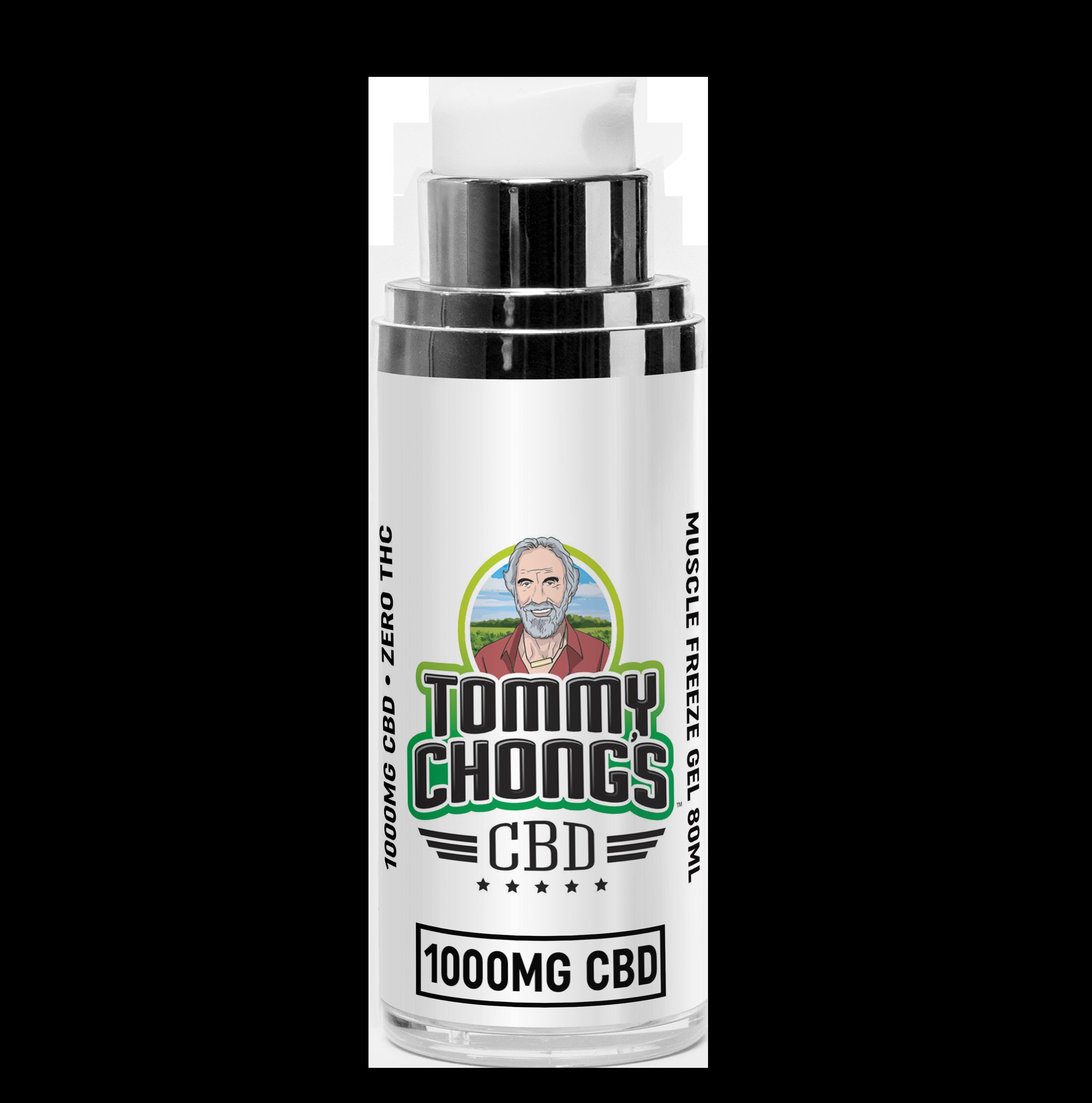 Tommy Chong's 250MG Full Spectrum CBD Muscle Freeze Gel